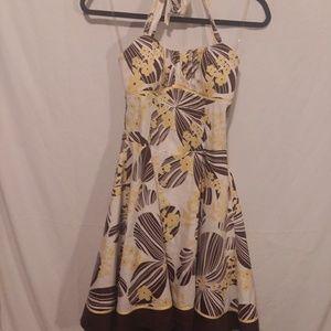 Ruby Rox halter dress rockabilly 50s style size 3